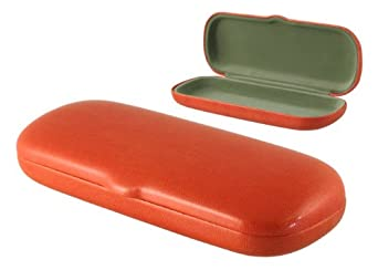 S5 Selected Smooth Hard Eyeglass Case (Orange)
