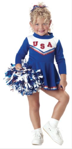 California Costumes Patriotic Cheerleader