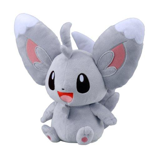 Takaratomy Pokemon Best Wishes Voice and Motion Activated Talking Plush - 11' Chillarmy/Minccino