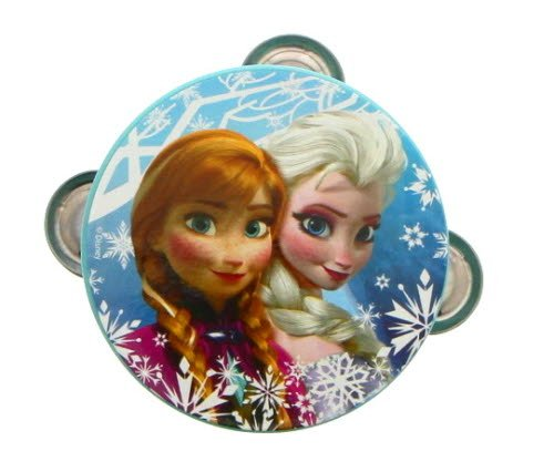 Disney Frozen Elsa and Anna Tambourine - Musical Instrument