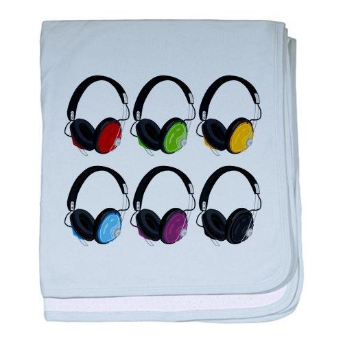 Cafepress Vector Illustration Headphones - Baby Blanket Baby Blanket - Standard