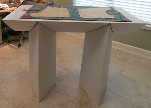 That-Table Flat-Top, Fold-Away, Counter Height, Fabric Cutting Board & Multi-Purpose Table, 55