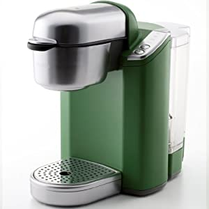 (Curing) Keurig coffee maker trevie BS100G (Green: green tea)