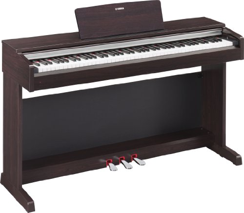 Yamaha YDP-142 Rosewood Digital Piano BUNDLE w/ Bench, Lamp