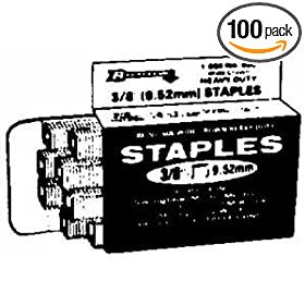 Arrow Fastener 604 Wide Crown Swingline Heavy Duty 1/4-Inch Staples, 1,000-Pack