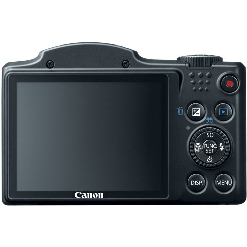 Canon PowerShot SX500 IS 16.0 MP Digital Camera with 30x Wide-Angle Optical Image Stabilized Zoom and 3.0-Inch LCD (Black): CANON