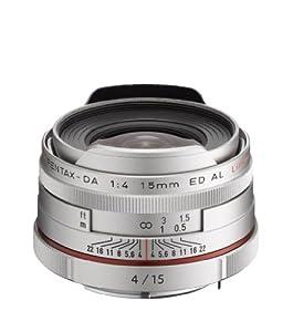 Pentax HD Pentax-DA 15mmF/4ED AL Limited Objektiv silber