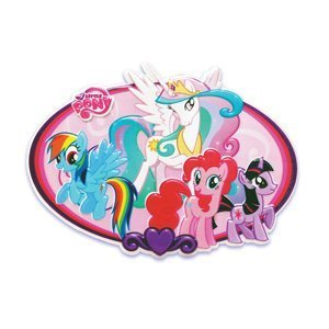 My Little Pony Cake Topper Plaque