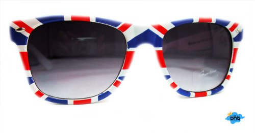 Union Jack Sunglasses + Semi-rigid Case | Cool Summer Shades | London Souvenirs | London Gifts