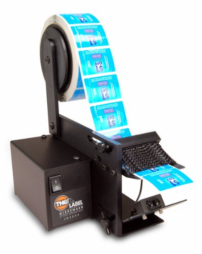 "Start International Ld2000 High Speed Electric Label Dispenser, 6"" Roll Capacity"