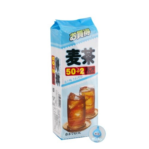 Roasted Barley Tea /Barley Tea /Mugicha - Barley Tea 50+2 Teabags Bonus Pack