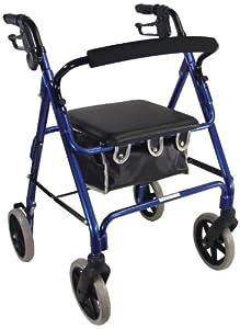 Aidapt Blue Aluminium Rollator