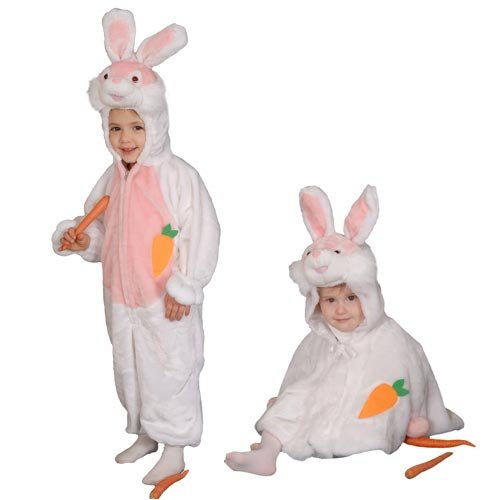 [Cozy Little Bunny Costume Set - Size 6] (Bunny Costume For 12 Year Old)