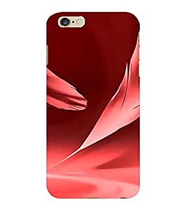 ColourCraft Pink Feather Design Back Case Cover for APPLE IPHONE 6S PLUS