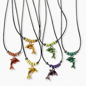 Dolphin Necklaces - Vacation Bible School & Novelty Jewelry - 1
