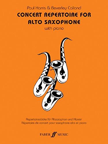 Concert Repertoire for Alto Saxophone PDF