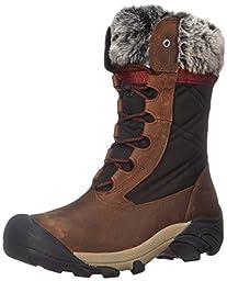 KEEN Women\'s Hoodoo III Winter Boot, Cascade Brown/Zinfandel, 10 M US