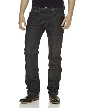 Levi's® 501 - Droit - Homme - Bleu (Muddy Water) - FR : W28/L32 (Taille fabricant : W28/L32)