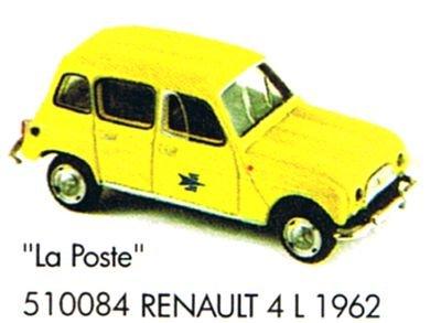 Norev NORE510084 Renault 4L 1962 - La Poste
