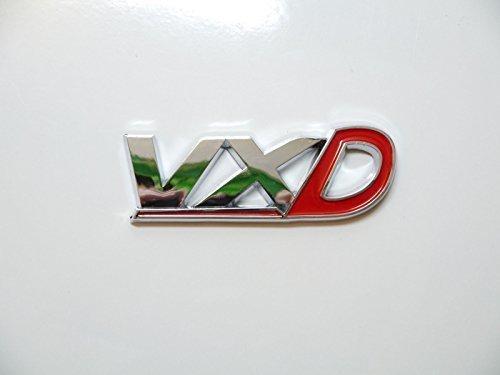 Chrom & Rot VXD Heckklappe Abzeichen Emblem Vauxhall Opel VXR Corsa-Astra Hintere Boot