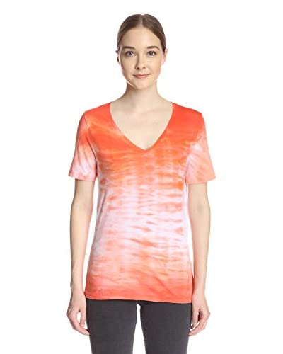 Three Dots Women's Tie Dye Tee