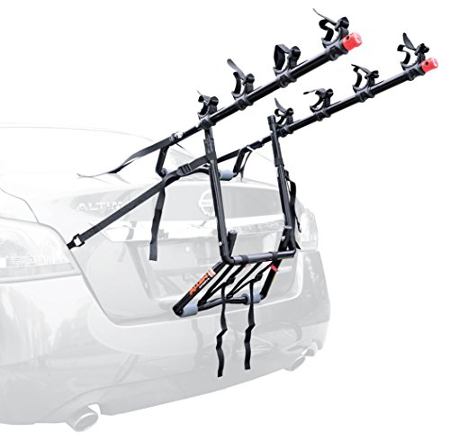 Allen Sports Deluxe 4-Bike Trunk Mount Rack (2012 Kia Rio Spare Tire compare prices)