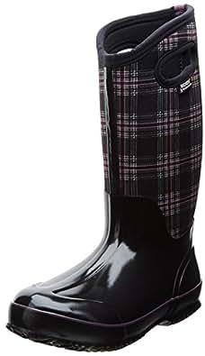 Amazon.com: Bogs Women's Classic Winter Plaid Tall Winter