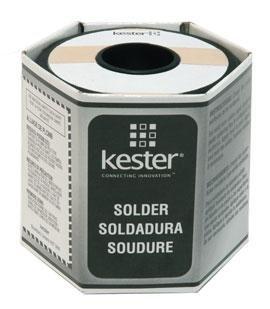 Kester 245 No-Clean Flux Core Solder, 63/37 .020