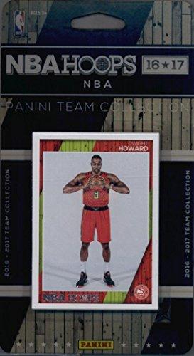 2016-17 Panini NBA Hoops FACTORY SEALED Atlanta Hawks Team Set of 11 Cards: Paul Millsap(#40), Dennis Schroder(#41), Kent Bazemore(#42), Kyle Korver(#44), Jarrett Jack(#89), Dwight Howard(#117), Thabo Sefolosha(#185), Walter Tavares(#186), Kirk