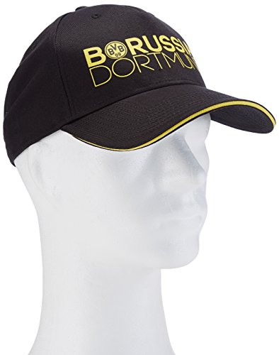 Puma Cap BVB, Unisex, Cap BVB, Black-Cyber Yellow, Taglia unica