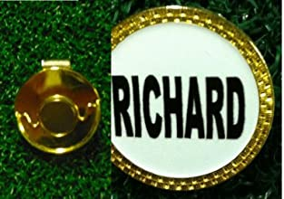 Gatormade Personalized Golf Ball Marker amp Hat Clip Richard