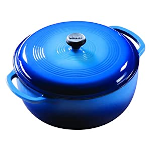 Lodge Enameled Cast Iron 6-Quart Dutch Oven
