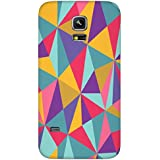 Timpax Protective Hard Back Case Cover Full Access To All Features. Ports Of The Device Including Microphone, Speaker, Camera And All Buttons. Printed Design : A Multicolour Designers Pattern.Exactly Design For : Samsung Galaxy S5 Mini ( SM 800G )