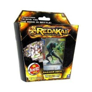 Redakai Hobby Edition Radikor Structure Deck with Exclusive Cyonis & Gold Pack Card 44 Cards Trading Cards
