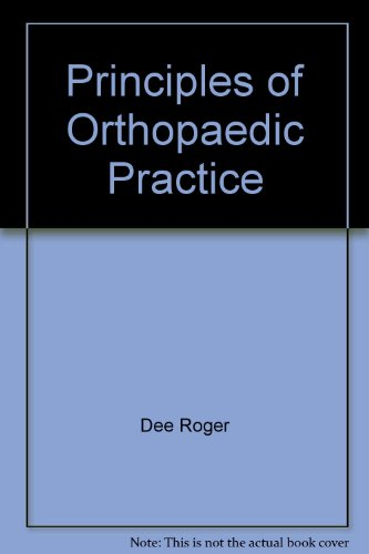 Image for Principles of Orthopaedic Practice