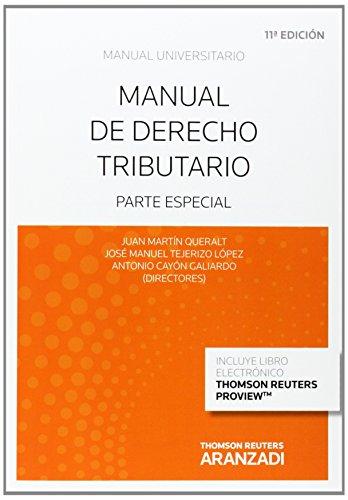Manual de derecho tributario: parte especial (Manuales)