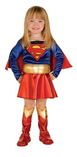 [Super Hero Supergirl Toddler Costume] (Toddler Supergirl Costumes)