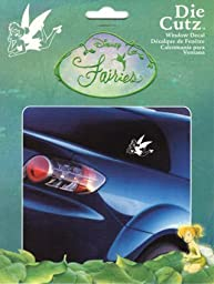 Disney Fairies Tinkerbell Die Cutz Window Decal by Chroma