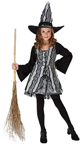 Child Goth Rose Witch Costum, Large (12-14)