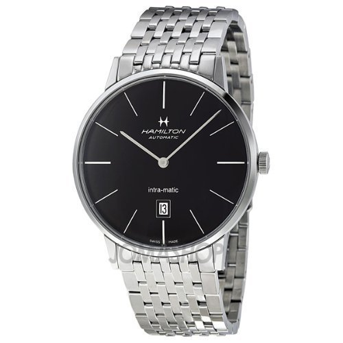 HAMILTON TIMELESS CLASSIC H38755131 GENTS STAINLESS STEEL CASE AUTOMATIC WATCH