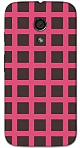 Timpax protective Armor Hard Bumper Back Case Cover. Multicolor printed on 3 Dimensional case with latest & finest graphic design art. Compatible with Motorola Moto -G-2 (2nd Gen )Design No : TDZ-22865