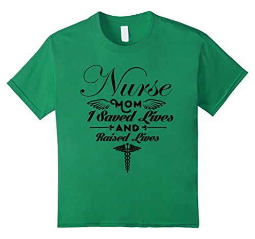[Kids Nurse Mom Tshirt Funny Xmas Gift Tshirt Nursing Tshirt 4 Kelly Green] (Midwife Costume For Kids)