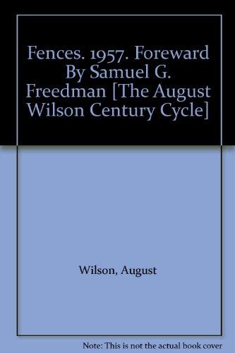 Fences August Wilson Essay