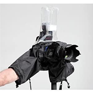 Think Tank Hydrophobia? Flash 70-200, Rain Cover for Pro Size DSLR with Flash and 70-200 2.8