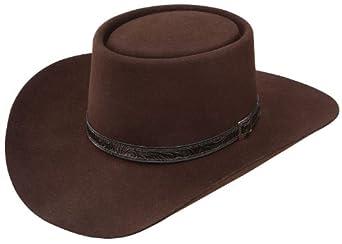 f7625c95 Stetson Men\'s 4X Buffalo Revenger Felt Gambler Hat (7 1/4