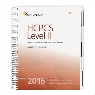 HCPCS Level II Expert - 2016 (Hcpcs Level II Expert (Spiral))