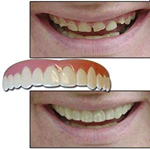 Imako Cosmetic Teeth® Novelty Smile Overlay-Size: Large-Color: Natural