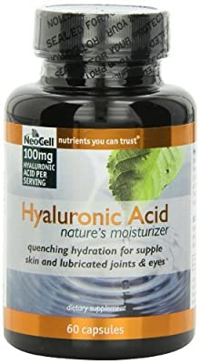 Neocell Hyaluronic Acid From Rooster Comb, 100mg (180 Capsules)