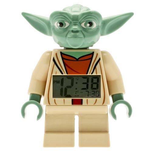 LEGO Clone Wars Yoda Minifigure Clock