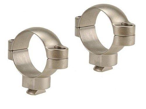Leupold & Stevens Dual Dovetail 1 Inch High Rings - Silver